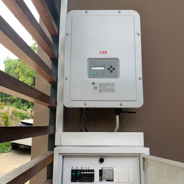 6Kw Grid Tied System ABB