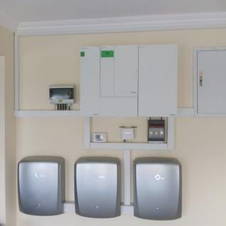 Schneider Conext XW+ Solar system With Lithium Storage