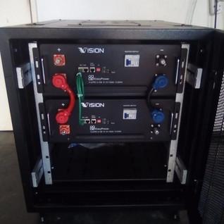 Lithium Battery Storage Bank
