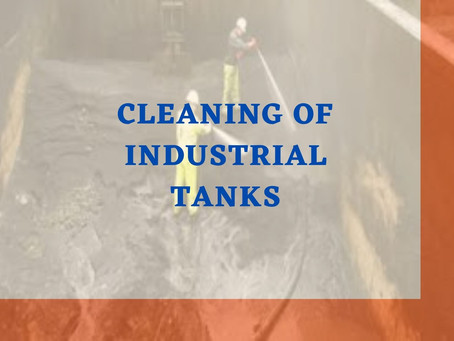 Cleaning of industrial tanks