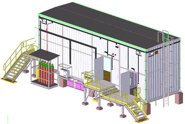 local equipment room(LER) modular container
