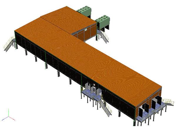 Substation buildng ,BOC(Basra Oil Company)