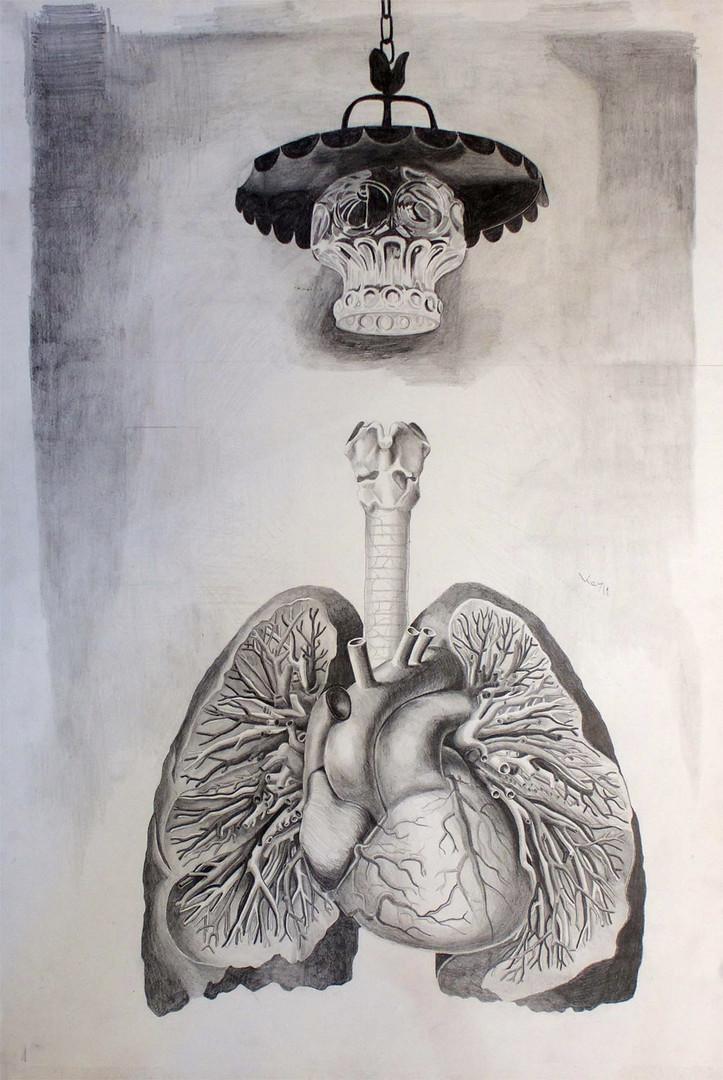 totem lampe et poumons