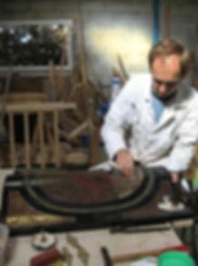 Restauration meuble d'appui
