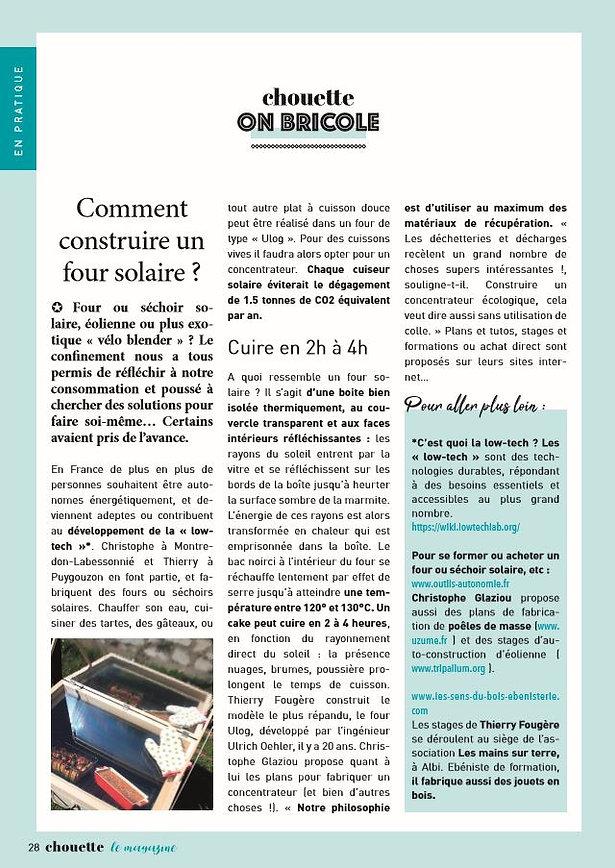 Chouette le magazine-article-en-ligne-internet-web-journal-journaliste-parle-confiance-relations-vue-les-sens-du-bois-ebenisterie