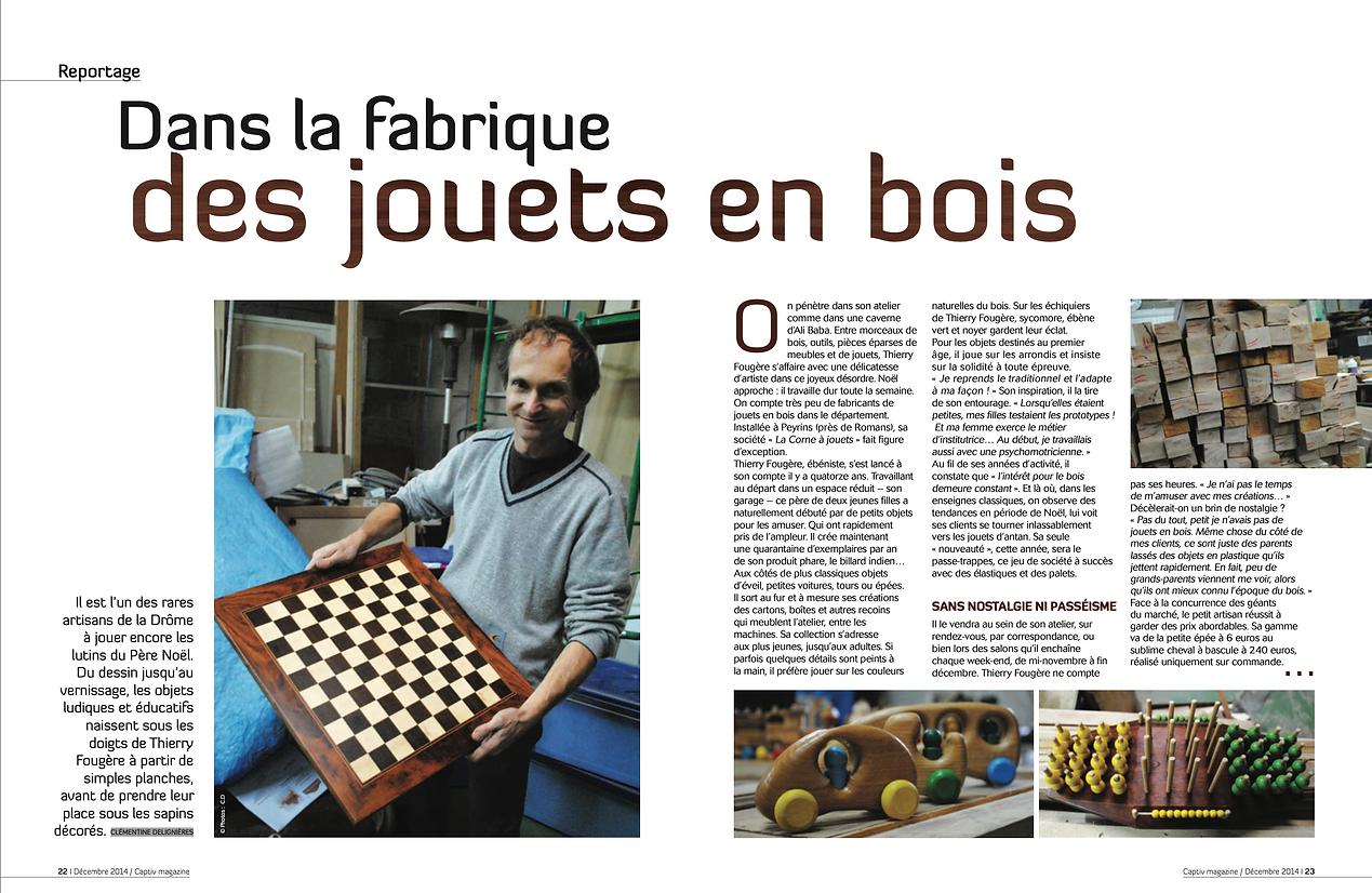 captiv-magazine-presse-article-ebenisterie-puygouzon-thierry-fougere-artisan-bois-qualite