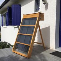 Séchoir solaire sur terrasse