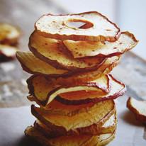 Rondelles de pommes à la cannelle.JPG