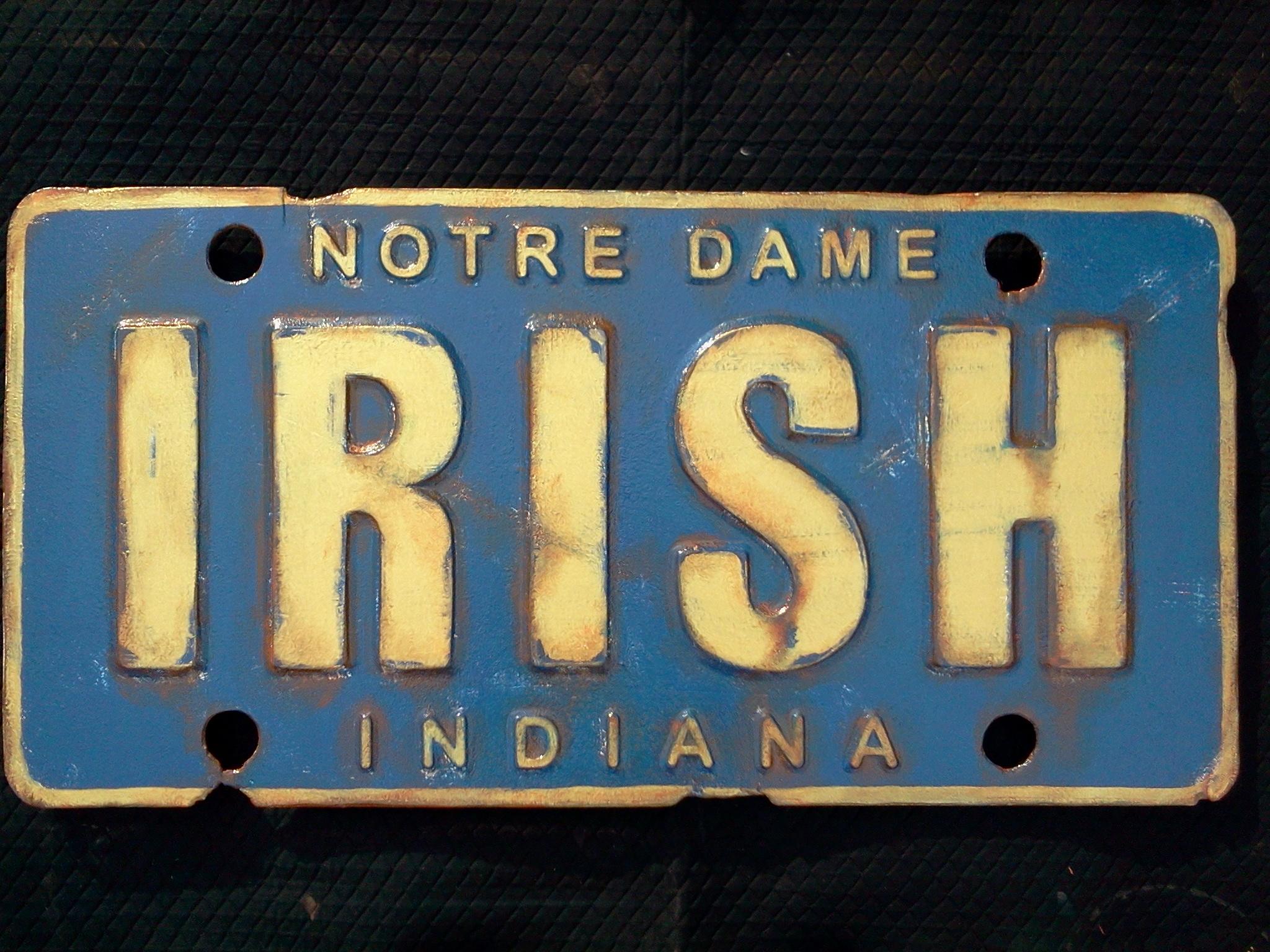 Irish plate