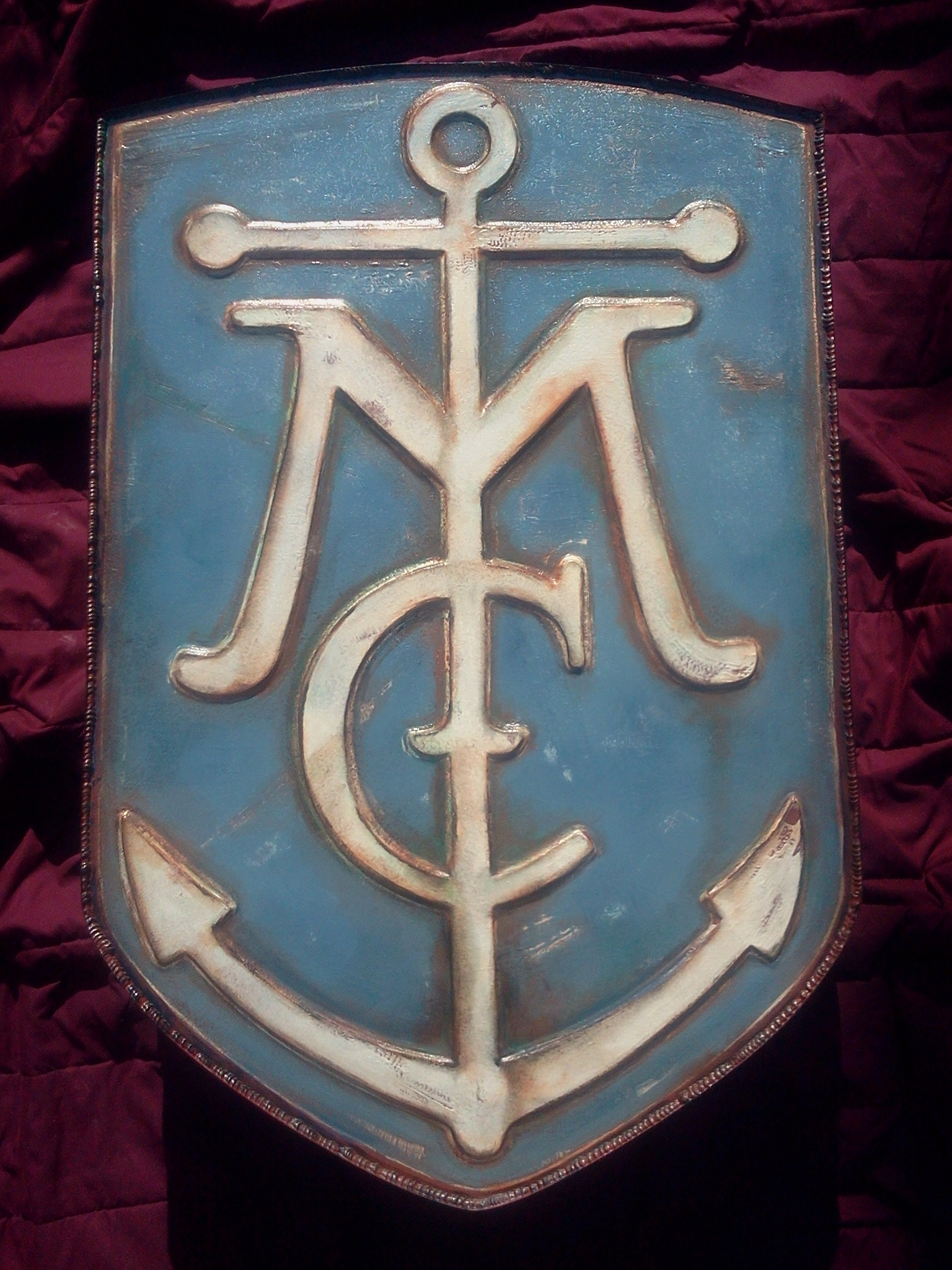 Yacht club sign