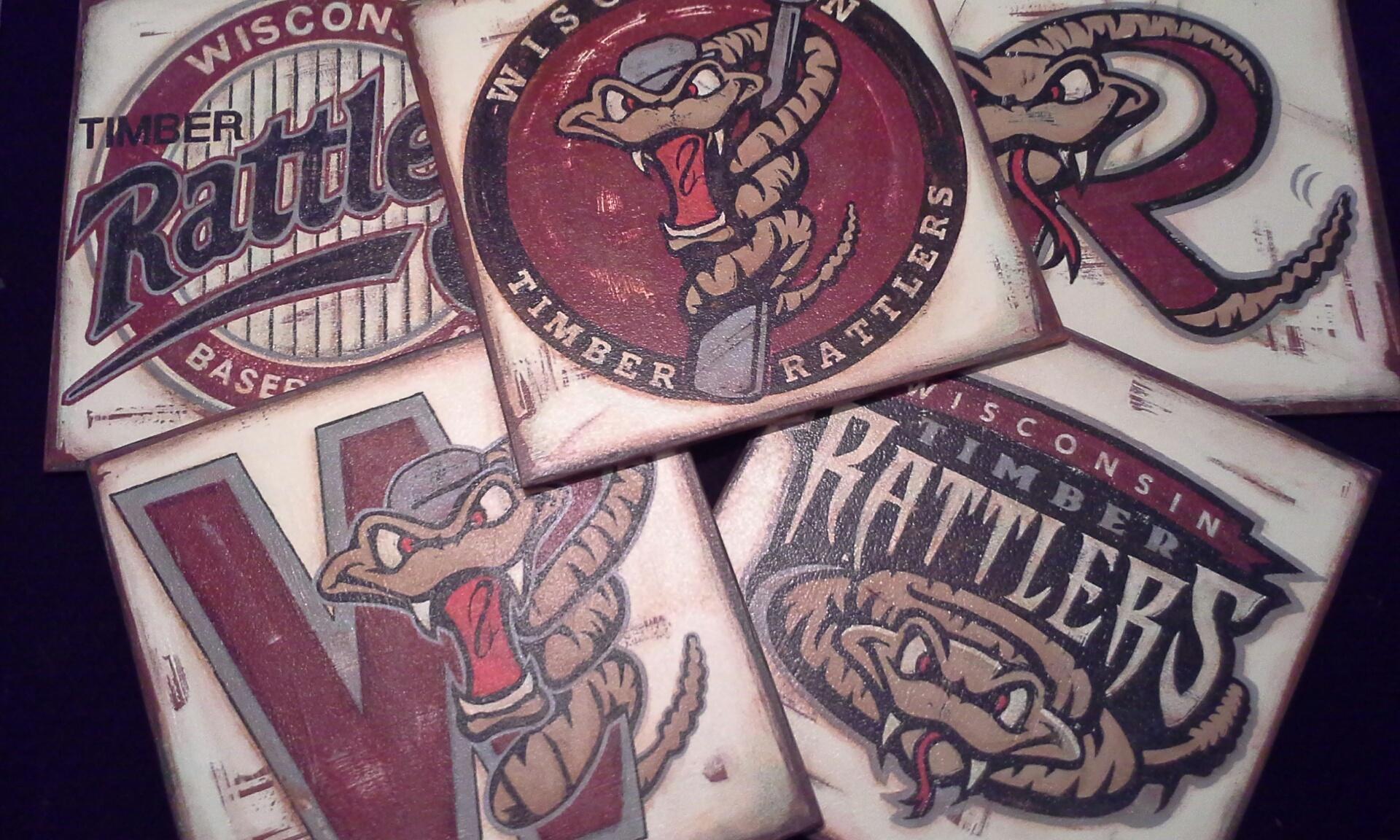 Timber Rattlers logos