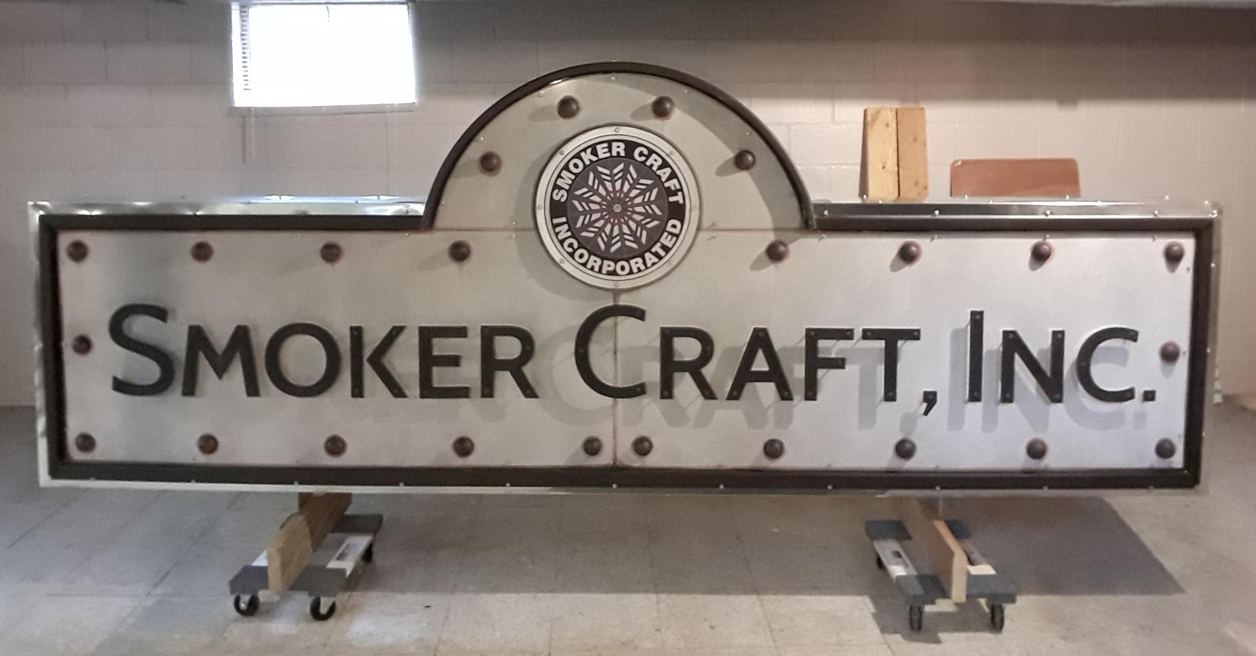 smoker craft exterior sign