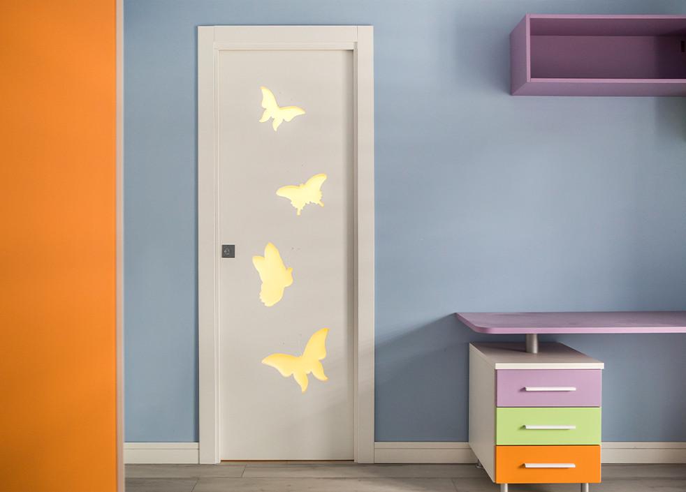 porteamato oh my door le farfalle scorre