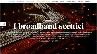 Broadband-scettici? Ma lo status quo non è un'opzione.