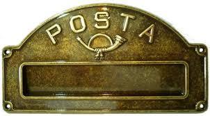 Consultazione sul 'pacchetto postale'