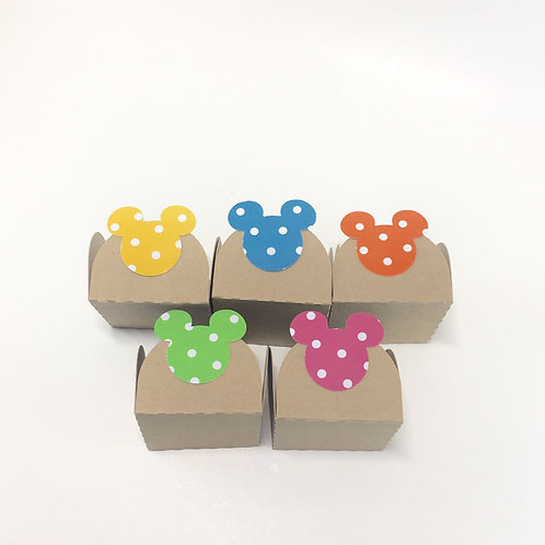 Chocolate Truffle Holder with Mickey Mouse Shape