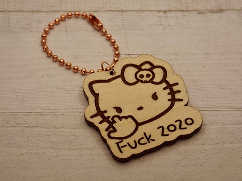 Hello Kitty Keychain - F*ck 2020 / Keychains
