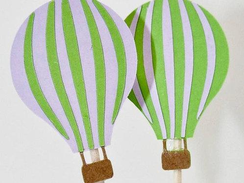 Hot Air Balloon - Topper