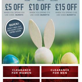 Easter Voucher Codes