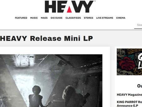 """オーストラリア """"HEAVY magazine"""" にて FNH [4P4] ピックアップ掲載!"""
