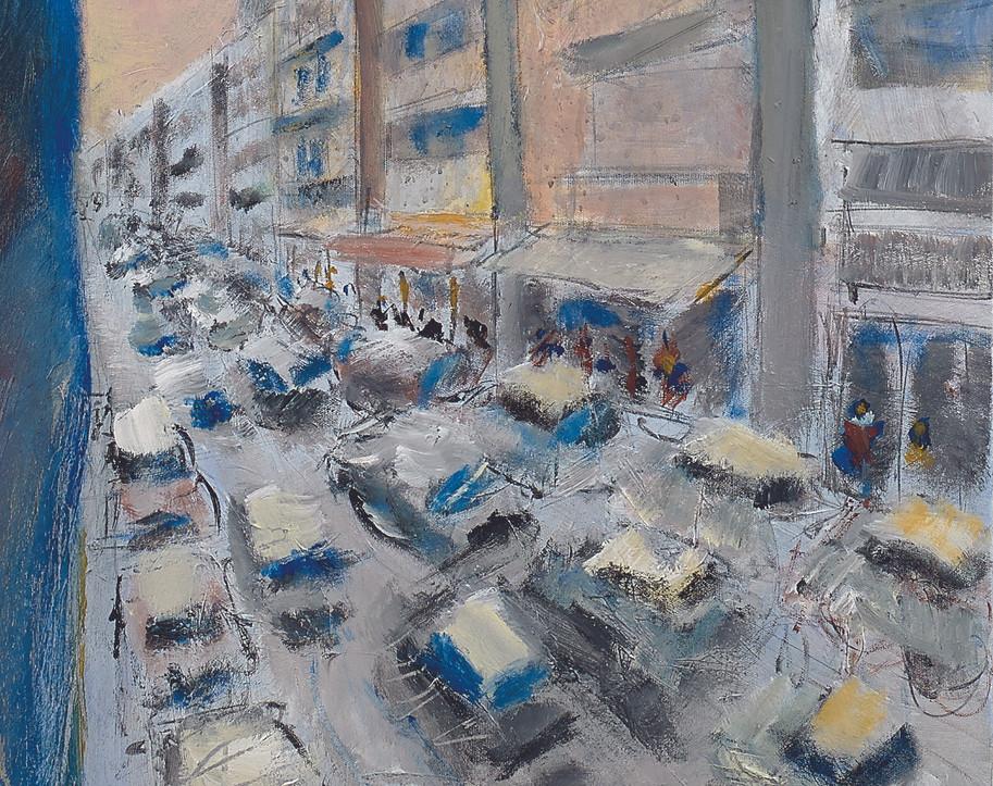 Yehuda Hakevi St, Tel Aviv, detail, jpg