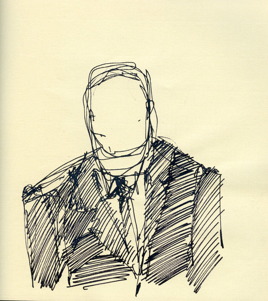 Prime Minister study, 2015, ink on paper, 30X20.jpg