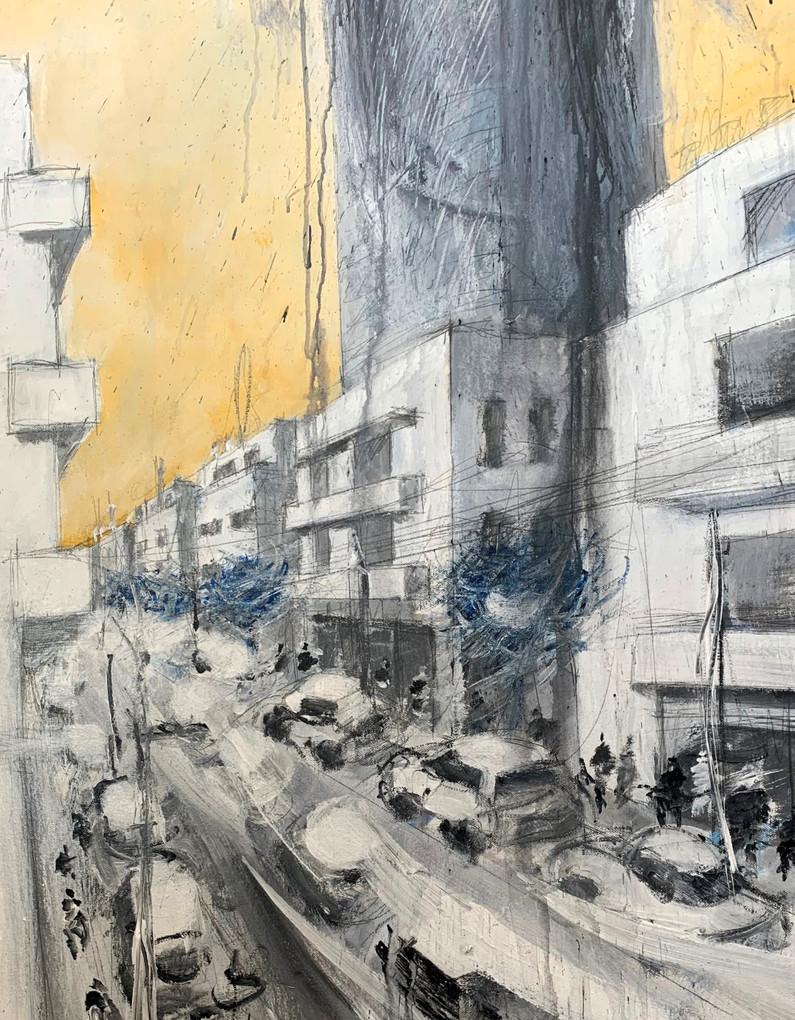 Lilenblum St, detail