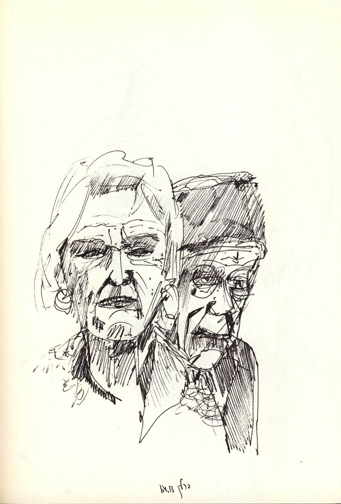 Berlin Couple, 2010, ink on paper, 30X20.jpg