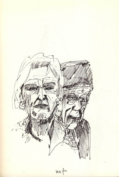 Berlin Couple, 2010, ink on paper, 30X20.jpg