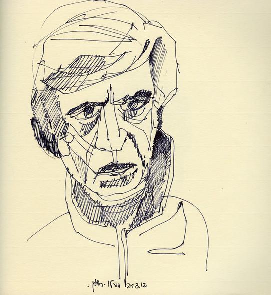 Porto 2, 2012, ink on paper, 30X20.jpg