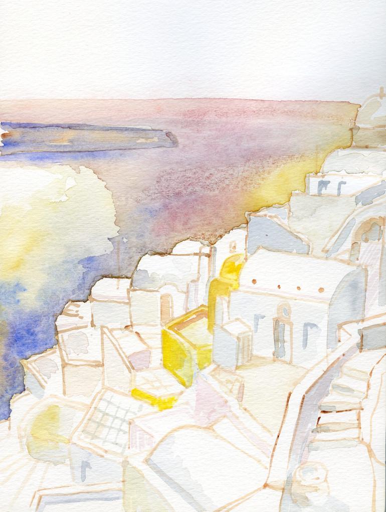 Santorini 1, 2002, water color on paper, 30X20.jpg