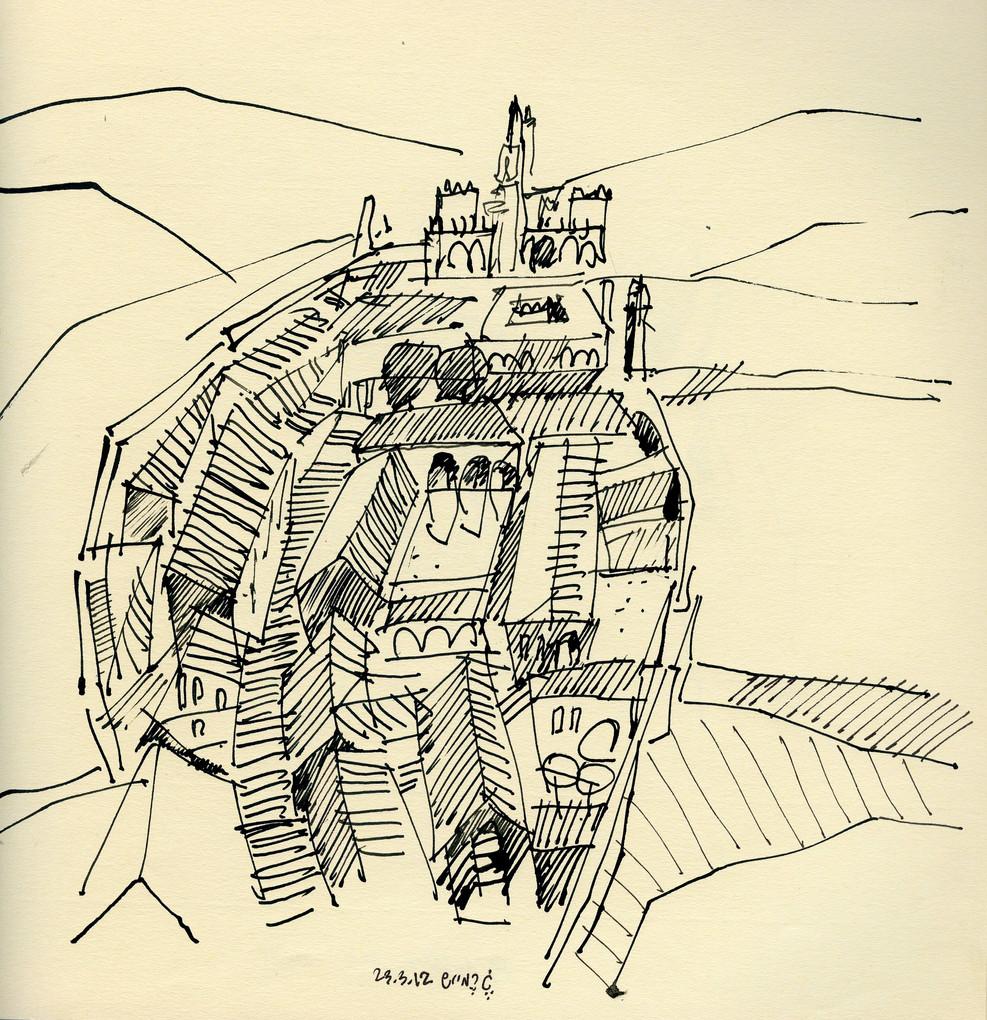 Guimaraes, 2010, ink on paper, 30X20.jpg