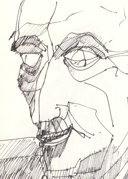Porto 1, 2012, ink on paper, 30X20.jpg