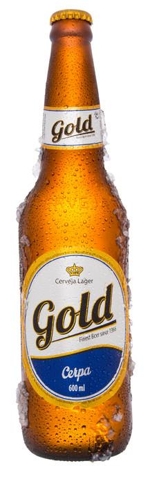 Cerveja Gold 600ml