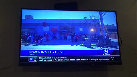KSBW Toy Drive