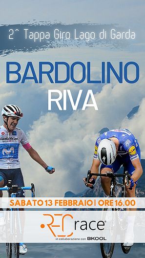 Bardolino Riva seconda tappa giro lago d