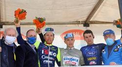 Immagine celebrativa del podio Coppa San