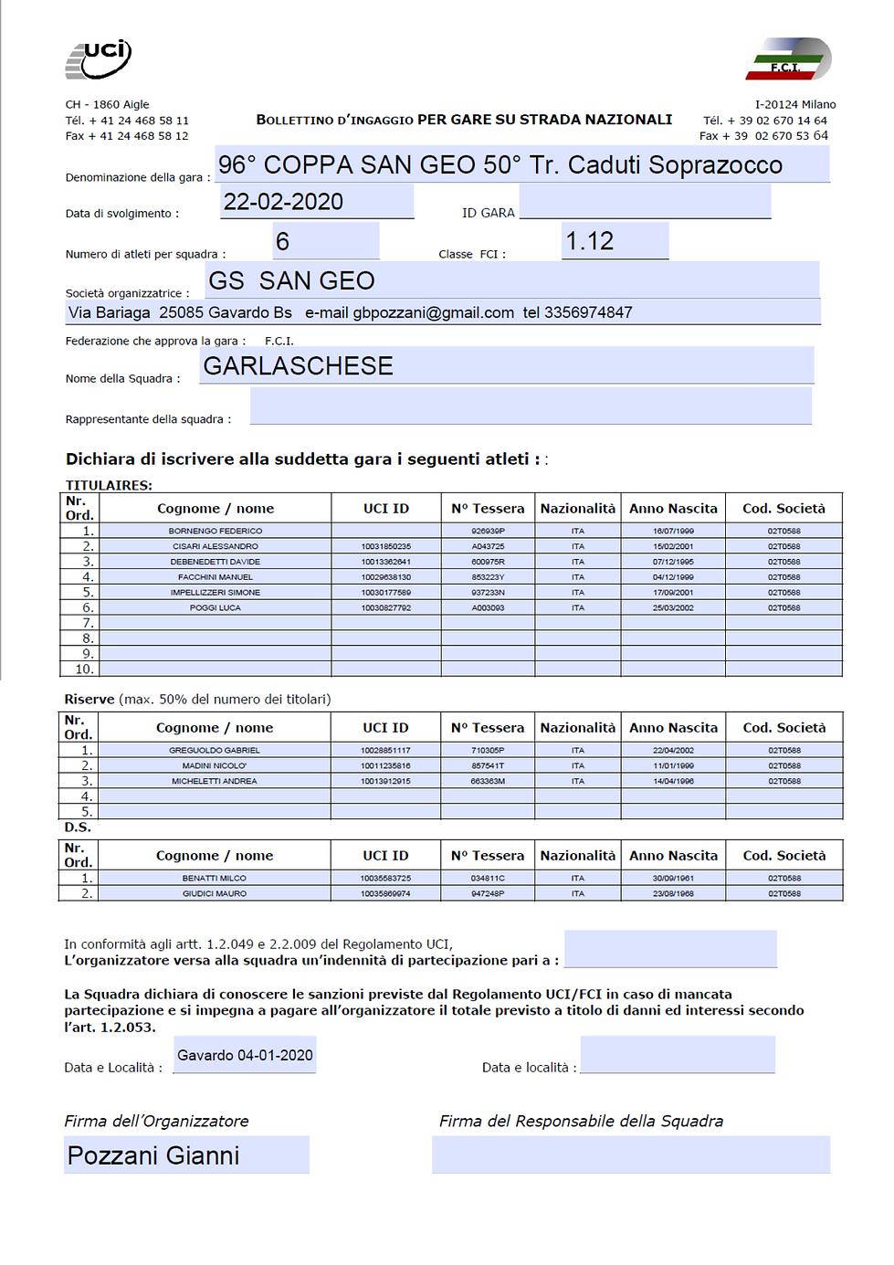 bollettino Team Garlaschese.png