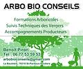 Pancarte Arbo Bio Conseils Benoit Piron