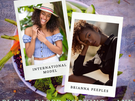 Plant-Based Cooking...And A Beer - Thai Dish With International Model, Brianna Peeples