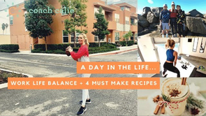 (Video) A Day In The Life: Work Life Balance + 4 Must Make Recipes