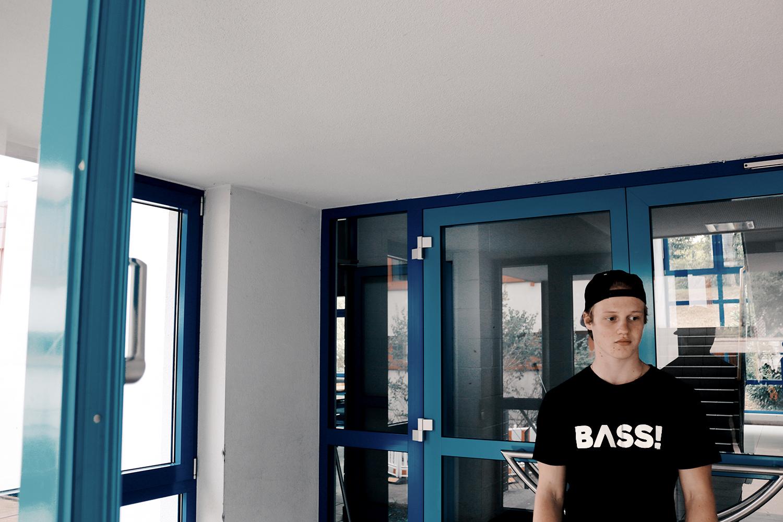 sierza bass t-shirt original black
