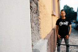 corner techno! t-shirt minimaltechno