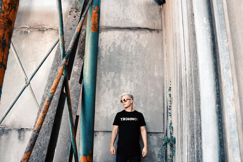 Sierza Techno T-Shirt man woman