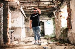Sierza Techno! T-Shirt black KLASSIK