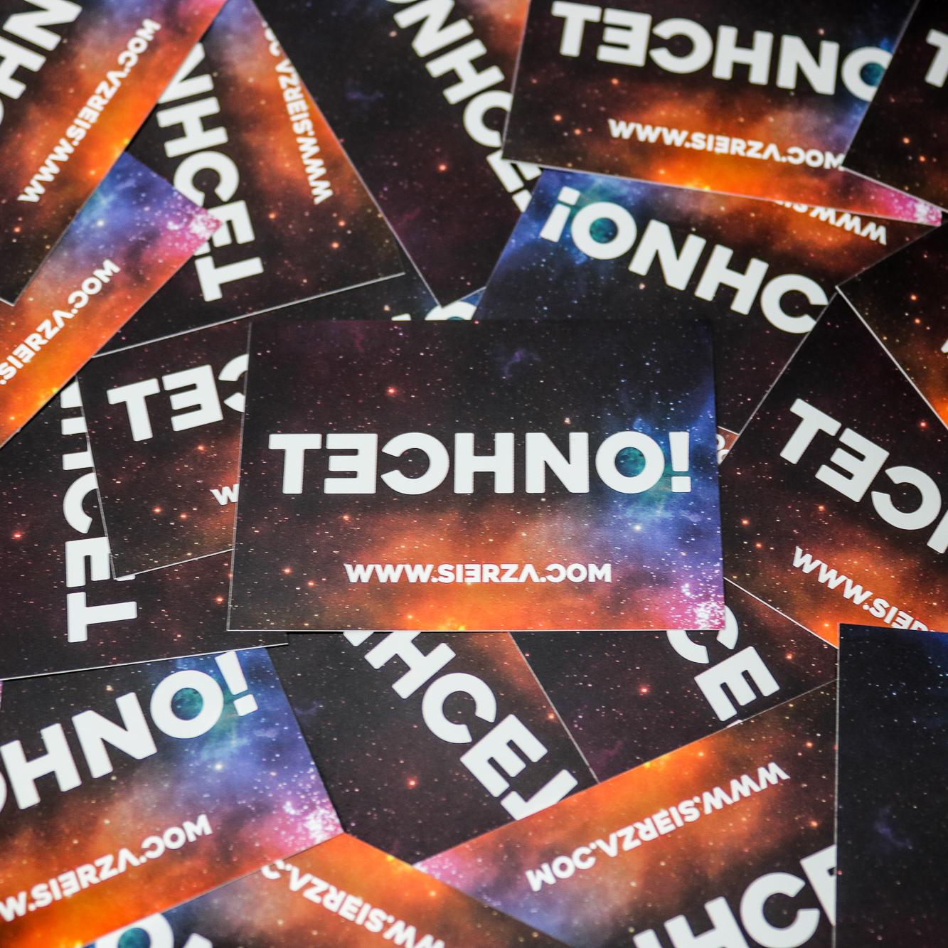 Sierza Techno T-Shirt ® sticker tech
