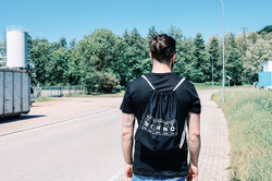gymbag techno! techno bag black