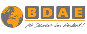 ausland Krankenversicherung bdae Logo