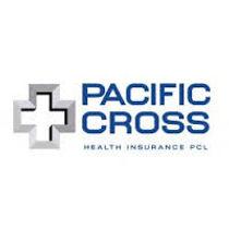 Pacific Cross Logo auf weisem Hintergrund