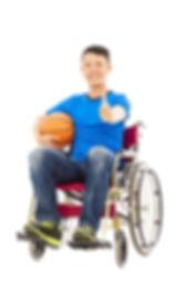 Thailand Unfallversicherung Mann im Rollstuhl